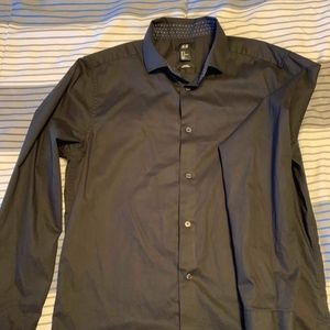 H&M Shirts - H&M Mens Black Button Down Shirt.